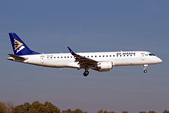 Embraer 190 linii Air Astana