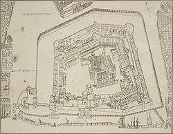 תוכנית מצודת לונדון, 1681