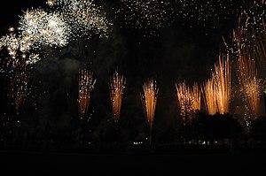 Ferragosto - Ferragosto fireworks display in Padua.