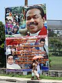 Paean to President Rajapaksa - New Town - Galle - Sri Lanka - 01 (14023927236).jpg