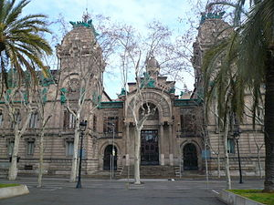 Tribunal de Cassació - The Palau de Justícia de Barcelona, located on the Passeig de Lluís Companys (Barcelona) was the seat of the Court of Appeal of Catalonia