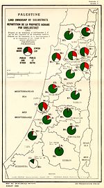 Palestine Land ownership by sub-district (1945).jpg
