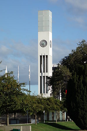 Hopwood Clock Tower - The Clock Tower mid Summer