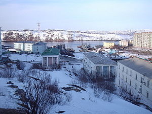 Polyarny, Murmansk Oblast - View of Polyarny