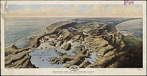 Charles Wesley Powell - Gatun Lake 1912