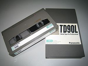 D5 HD - A Cassette Tape for D-5 HD (Medium)