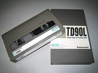 D5 HD - A Cassette Tape for D-5 HD (Medium)