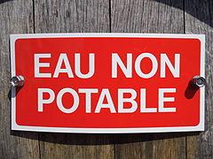 Panneau - Eau non potable.JPG