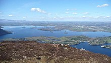 Panorama from Torc Mountain (2) - geograph.org.uk - 777017.jpg