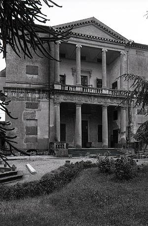 Villa Pisani, Montagnana - Garden front. Photo by Paolo Monti, 1979