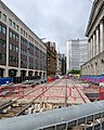 Paradise Street- tramway construction (geograph 6174112).jpg