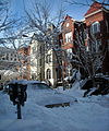 Parking space - Blizzard of 2010.JPG