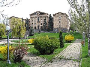 Parliament Yerevan building