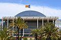 Part central del palau de la Música de València.JPG