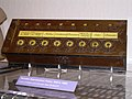 Pascaline (1642, France, replica in c. 1980) - Computer History Museum (2007-11-10 22.52.30 by Carlo Nardone).jpg