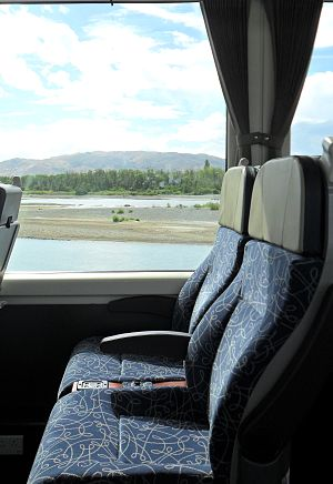 New Zealand AK class carriage - Seating in an AK