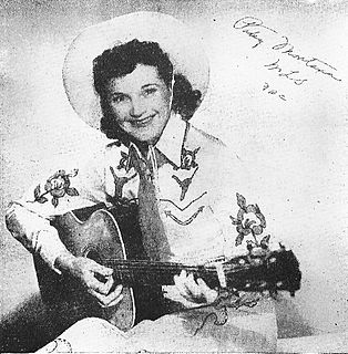 Patsy Montana American country music singer-songwriter