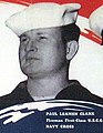 Paul Leamen Clark, Fireman First Class USCG, Navy Cross, Courageous Coast Guardsmen poster (cropped).jpg