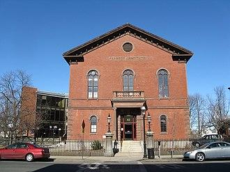 Peabody Institute Library (Peabody, Massachusetts) - Peabody Institute Library