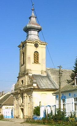 Peciu Nou Biserica romano-catolica(1776).jpg