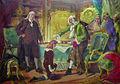 Pedro Américo - Voltaire abençoando o neto de Franklin em nome de Deus e da Liberdade 2.jpg