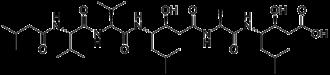 Pepstatin - Image: Pepstatin