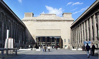 Alfred Messel - Entrance to the Pergamon Museum, Berlin