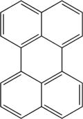 Struktur von Perylen
