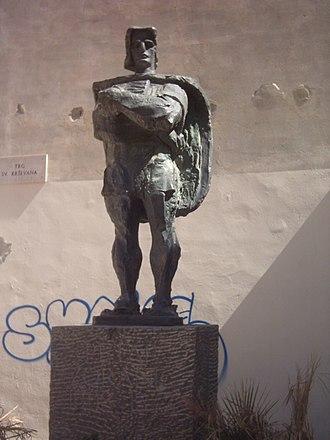 Petar Zoranić - Statue to Petar Zoranić