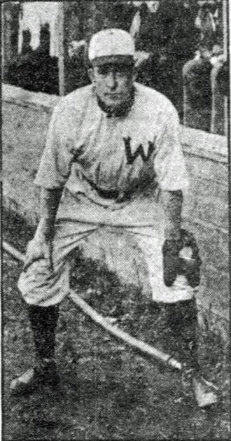 Pete O'Brien (1900s second baseman) - Image: Pete o'brien 1907 senators