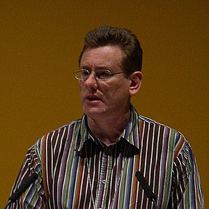 Peter Black (Welsh politician) - Peter Black addressing the 2008 Liberal Democrat conference in the ACC Liverpool