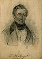 Peter Mark Roget. Pencil drawing. Wellcome V0005065.jpg
