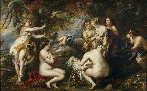 """Diana and Callisto"" by Peter Paul Rubens - Museo del Prado"