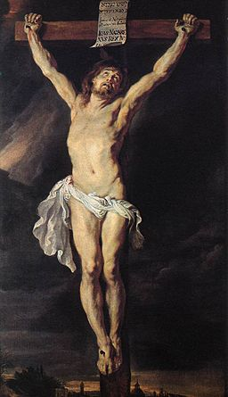 Peter Paul Rubens , The Crucified Christ, 1610-1611