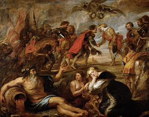 Battle of Nördlingen (1634) - The Victory of the Two Ferdinands, Peter Paul Rubens (1635)
