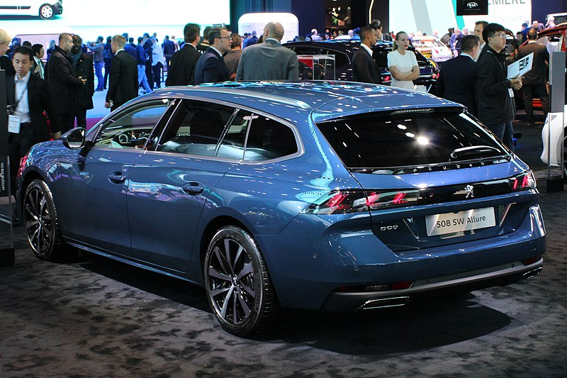 file peugeot 508 sw allure paris motor show 2018 img wikimedia commons. Black Bedroom Furniture Sets. Home Design Ideas