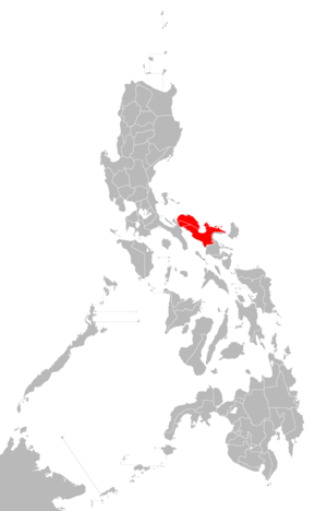 Ambos Camarines - Location of the historical Ambos Camarines and Camarines provinces.