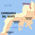Ph locator zamboanga del norte dipolog.png