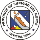 Provincial seal of Surigao del Norte