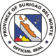 Official seal of Surigao del Norte