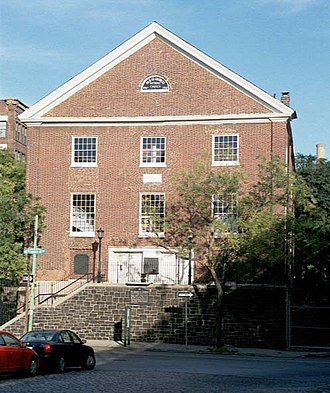 Methodist Episcopal Church - Built in 1769, St. George's Church in Philadelphia is the oldest Methodist church in continuous use in the United States.
