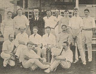 Philadelphian cricket team in England in 1897