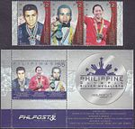 Philippine Olympic Silver Medalists 2017 stampsheet 2.jpg