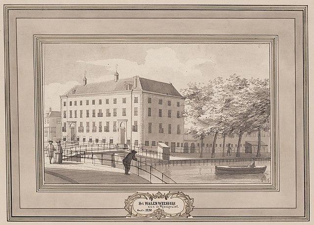 Walenweeshuis - Philips Jacobsz., C. (Caspar; 1732-1789)