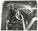 Photograph of Engine Room in a Dirigible, ca. 1933 (7951501088).jpg