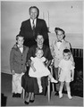 Photograph of Representative Gerald R. Ford with his Wife Betty and Their Children - NARA - 186868.tif