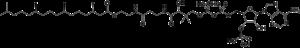 Phytanoyl-CoA - Image: Phytanoyl coenzyme A