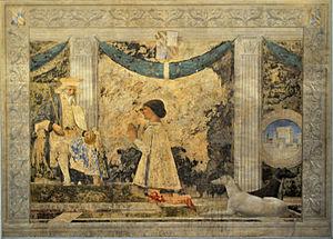 Piero della Francesca - St. Sigismund and Sigismondo Pandolfo Malatesta (1451)