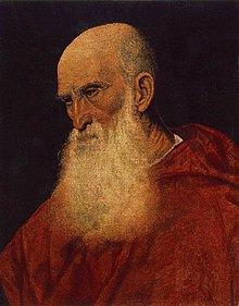 Portrait of a Cardinal (presumably Pietro Bembo) attributed to Jacopo da Ponte, c. 1545, Museum of Fine Arts, Budapest.