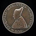 Pietro da Fano, Pasquale Malipiero, 1385-1462, Doge of Venice 1457 (obverse), c. 1452-1464, NGA 44556.jpg
